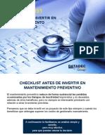 Oferta Checklist Mant Preventivo v1