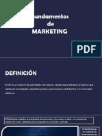 Fundamentos de Marketing W. Stanton Resumen diapositivas