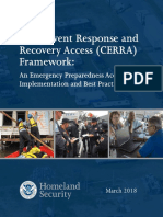 CRISIS EVENT RESPONSE AND RECOVERY ACCESS (CERRA)