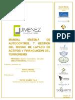 M-FIN-02 MANUAL SAGRLAFT JIMENEZ CONSTRUCTORES.docx