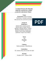 Endocrinología Hormonas, conceptos generales Mecanismos de acción de las hormonas
