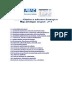 Ficha de Objetivos e Indicadores - FIEAC