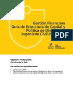 Guía Estructura de Capital y Política de Dividendos