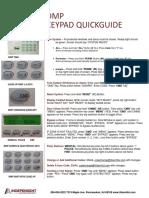 Dmp keypad guide