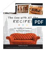 [2018] The One with All the Recipes by Teresa Finney | An Unofficial Cookbook for Fans of Friends | Ulysses Press