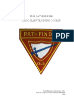 Pathfinder Basic Staff Training Course