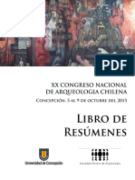Congreso Libro Resumenes XX CNACH