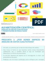 Analisis de Datos Cualitativos y Presentacion de Resultados