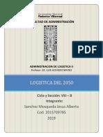 FORO N° 01 LOGISTICA