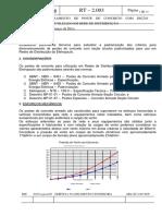 Dimensionamento de poste em seção circular