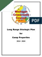 MCC Strategic Plan for Camp Properties (2014 -2024)