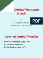 Flow chart of criminal
