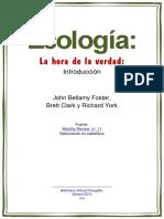 Ecología. John Bellamy Foster