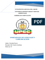 Portafolio Lenguaje II