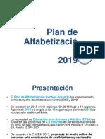 3 Sintesis Plan de Alfabetización 2019 Ppt
