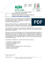 Programa Nacional Saude Oral 2011
