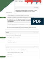 Historial de Evaluaciones RSE Examen Parcial - Semana 4