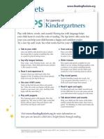 rr tips kindergarten