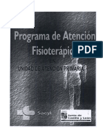 Protocolos de Fisioterapia (Sacyl)