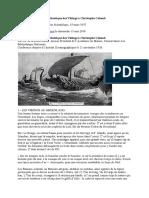 La Traversée de l'Océan Atlantique Des Vikings à Christophe Colomb