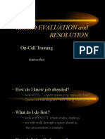 Abending Evaluation and Resolution