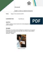 Informe Archivo de Bogota