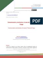 Comunicación y territorios