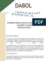 TEMA 5 Discapacidad Psiquica
