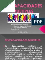 TEMA 1 Discapacidades Multiples