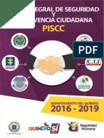 Plan Integral de Seguridad y Convivencia Ciudadana 2016 - 2019 - Piscc (2)