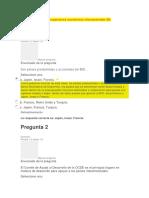 Evaluación Unidad 2 Organismos Económicos Internacionales ML