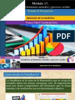 Aplicación de La Estadística/Módulo 17