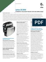 Zc300 Specification Sheet La Es