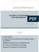 Current Issues- Protectionism and FPI