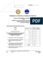 PMR Perlis Sains P2 2010