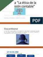 """Evidencia 3 Cartilla """"La Ética de La Profesión Contable"""""""