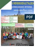 20191201 Gorbeia - Cartel