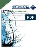 Informe de La Práctica 7