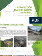 3. Clase 1 Inducción a Legislación Minero Ambiental