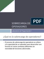 Sobrecarga de Operadores - Programacion