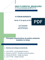 Palestra Recife Código Florestal