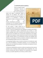 Antrpologia y Psicologia