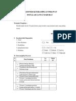 Lampiran 2.Kuesioner Keterampilan Perawat(2)