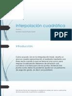Interpolación-cuadrática