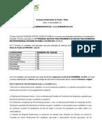 Ato Administrativo Nº 49 Convocação 15º Processo Seletivo Multiprofissional