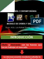 Economia Contemporanea Fundamentos de Economia. Semana 8 -9