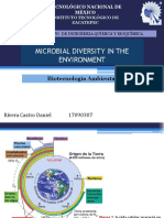 Microbial Diversity in the Environment