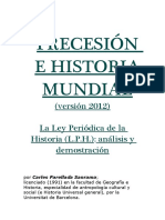 97756872 Precesi n e Historia Mundial Versi n 2012 La Ley Peri Dica de La Historia L P H 2