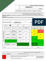 Formato Matriz Para Análisis de Riesgo Eléctrico (Tensión Por Contacto)