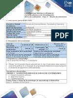 Guía de actividades y rúbrica de evaluación - Paso 3 - Diseño de la solución.docx